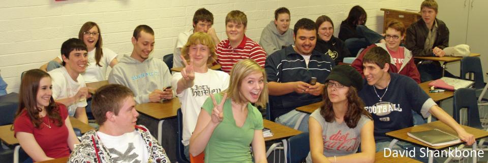 High Schoolers in Classroom